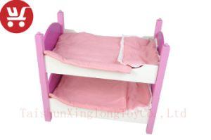 XL10221 Cama Crianças Beliche brinquedos educativos Rosa cama de bebé brinquedos