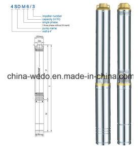 4SD8/7潅漑のための電気浸水許容の水ポンプ