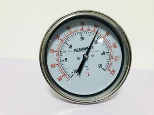 Termometro bimetallico dell'acciaio inossidabile