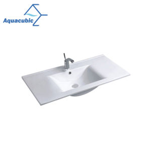 Cupcは証明した浴室の洗面器およびカウンタートップの流し(ACB7790)を