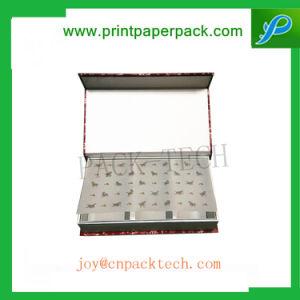 Rígido de lujo personalizado Caja de papel, cartón joyas regalo Caja de embalaje Chocolate Café / Tinto / Flores / Dulces / Chocolate / Cosmética / Cuadro de pestañas