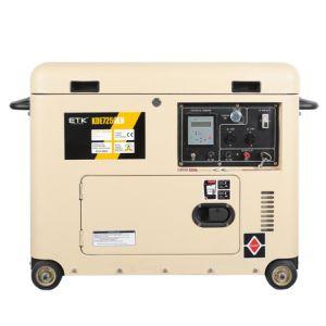 5kw小さい携帯用無声ディーゼル発電機(BDE6700TN)