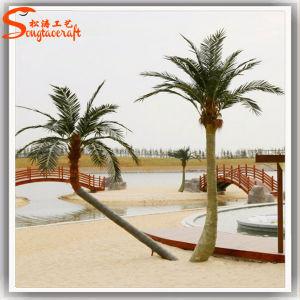 De openlucht Decoratieve Plastic Kunstmatige Boom van Plantts van de Palm
