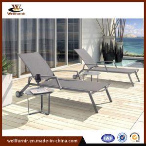 2018 Легкая складная бассейн Sun строп Lounge стул садовой мебелью с помощью колеса (Моя-510)