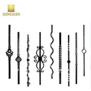 鉄の花の形の鋳鉄または錬鉄の装飾