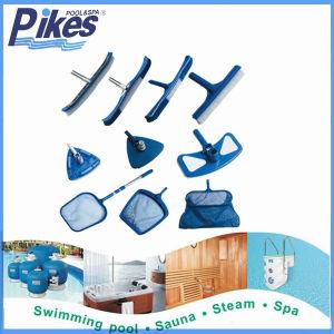 Escova de acessórios de montagem de limpeza da piscina