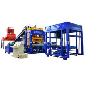 Qt5-15 bloque hueco de concreto automática máquina de formación de la máquina pavimentadora