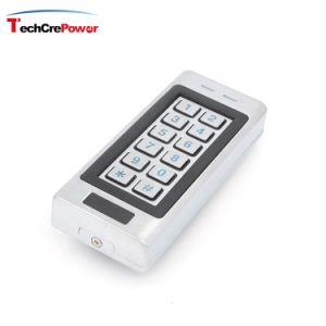통합 키패드 및 카드 판독기와 가진 Vandal-Proof 금속 RFID 독립 접근 제한