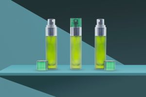 10ml de PETG transparente de plástico Fosco Embalagem Cosméticos Vaso Loção personalizada