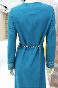 Hot vendre Prining Indian femmes musulmanes fashion robe manteau décontracté Nouveau design fashion robe de soirée