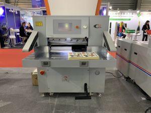 Manuel d'alimentation manuelle Papier Machine de découpe de coin rond (QZYK660E-8)