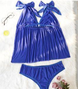 Sexy femmes mûres, plus la taille de chemise de nuit de lingerie