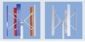 1500W с высокой скоростью Permagnet магнит вертикальный ветровой турбины