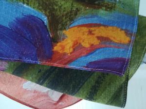 Sciarpa chiffona naturale lungamente stampata Digitahi su ordinazione della seta di gelso di 100%