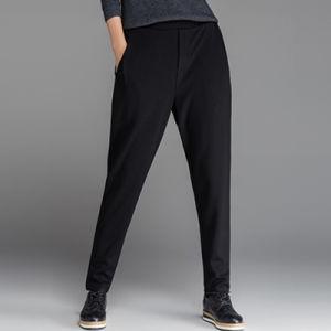 Indumento della Cina che fabbrica signora alla moda Loose Black Pants