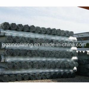 Black galvanisé à chaud pour l'eau du tuyau d'échafaudage et d'huile
