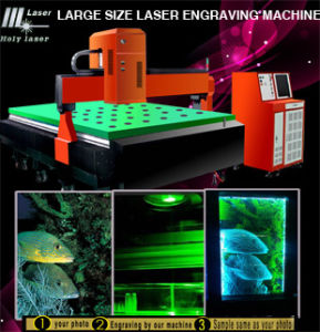 3D Prix machine à gravure laser de grande taille
