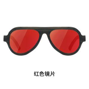 Promoción de la moda al por mayor de estilo deportivo de logotipo personalizado UV400 Bambú polarizada gafas de sol