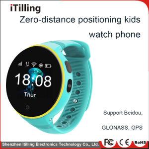 GSM van de verdeler de Slimme Jonge geitjes van de Manchet van de Telefoon van het Horloge Mobiele de Oude GPS van Mensen Drijver van de Veiligheid Slim Horloge met Sos van de Groef van de Kaart SIM