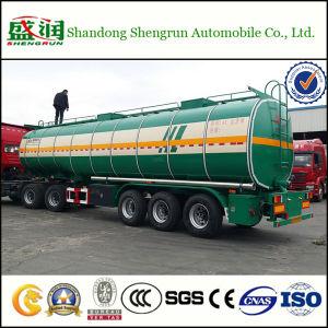 Chemischer flüssiger Transport-Tanker-LKW-Schlussteil