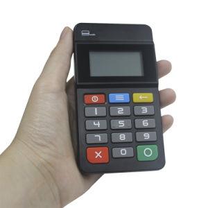 Mini terminale mobile tenuto in mano di pagamento di posizione Bluetooth del lettore di schede di CI