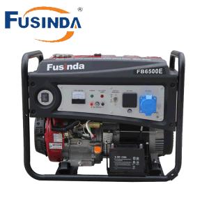5kw 5kVA portátil motor generador de gasolina con la certificación CE