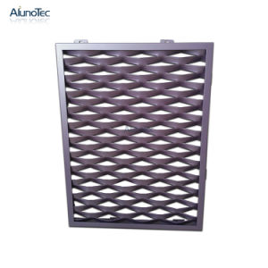 Norme Plafond net d'aluminium métallique perforée