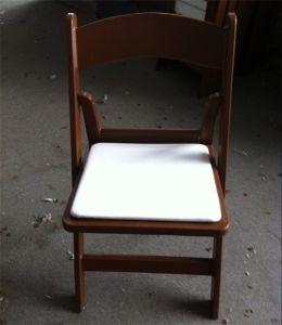 Wedding Events를 위한 브라운 Padded 정원 Plastic Chair