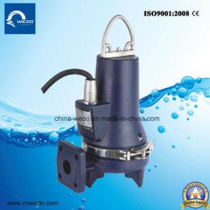 La serie Wqas Bomba de agua de alcantarillado con alta capacidad