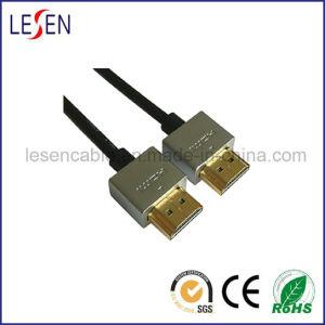 Ultra-slanke HDMI Kabel, Hoge snelheid, 1.4V, de Dekking van het Metaal