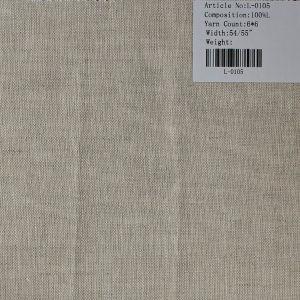 The Pure Linen Tissu L-0105