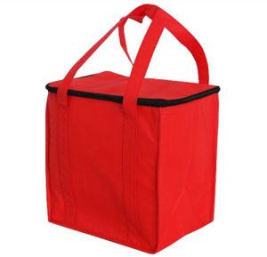 Pique-nique de plein air du refroidisseur d'alumium isolés non tissé sac à lunch de chemise