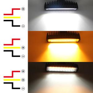 Nieuw Ontwerp Twee de Super Heldere Mini Lichte Staaf van de Kleur Auto SUV Vrachtwagen het 6.3 LEIDENE van de Lichten van de Vorkheftruck van de Duim 30W Licht van het Werk