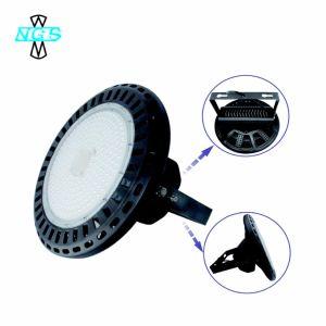 Alto indicatore luminoso dell'alloggiamento dell'indicatore luminoso della baia del UFO LED per la fabbrica del magazzino