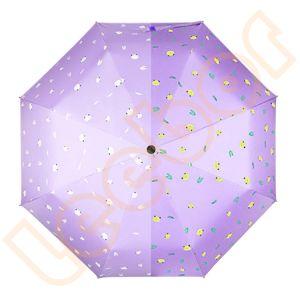 良質の日曜日のギフトの傘3つのフォールドを影で覆う