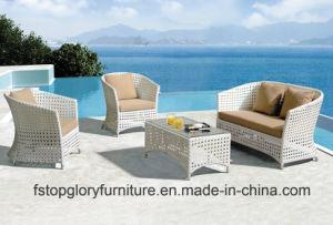 Patio al aire libre muebles de ratán y Jardín Sofá establece (TG-078)
