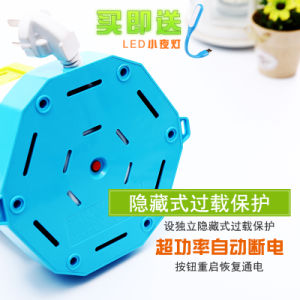 Drei Schicht 1.8m 8 Möglichkeits-Farben-elektrischer drehender Aufsatz-vertikaler Energien-Streifen mit USB-Kanal