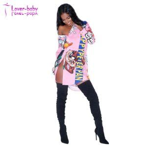 Fantasía niñas Loony personalizadas Camisetas botón hacia arriba