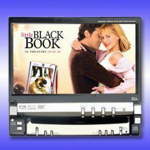 Monitor LCD TFT de carro com TV/DVD