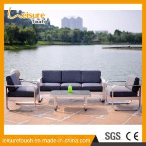 Modernes Freizeit-Hotel-Ausgangsim freienaufenthaltsraum-Stuhl-Patio-Sofa-gesetzte Garten-Aluminium-Möbel