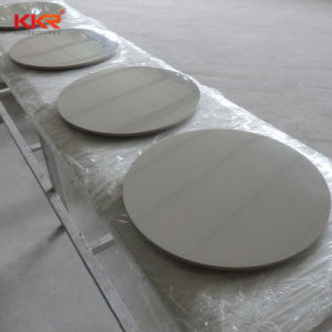 Restaurante de mármol artificial blanco sillas y mesas