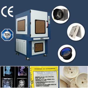 macchina UV della marcatura del laser 7W per il grano di CI