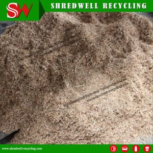 La tecnología avanzada planta de reciclaje de residuos de madera para aserrín/Pellet