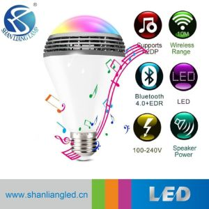 Colores de alta calidad de música Bluetooth WiFi Wireless bombilla LED RGB