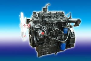 Un motore diesel dei 4 cilindri per il trattore a motore diesel