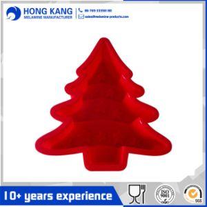 Personalizar la Navidad Árbol de silicona de molde de hornear