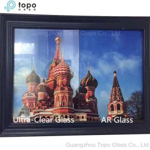Het lage Ijzer AR bedekte Glas van de Kunst van het Blad van de Vlotter het Anti Weerspiegelende (met een laag AR-TP)