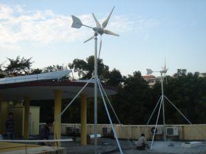 Sistema híbrido Solar do vento para casa 3KW de energia necessário