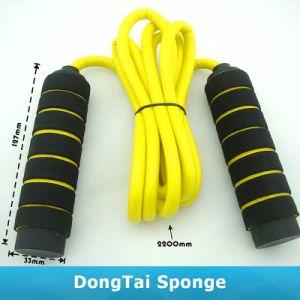 中国の卸し売り速度のハンドルが付いている省略の縄跳び