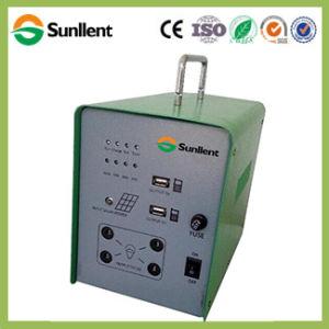 Su uso en casa portátil 40W DC Mini sistema de Energía Solar